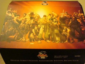 Street Fighter Anniversary Edition Arcade Stick Box