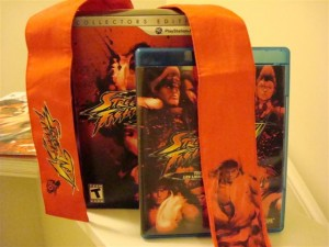 Street Fighter 4: Collector's Edition Box And Extras